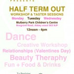 Half Term Young People